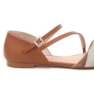 """Kelly & Katie Shoes - Brown """"Kelly & Katie"""" Eluna Flat"""